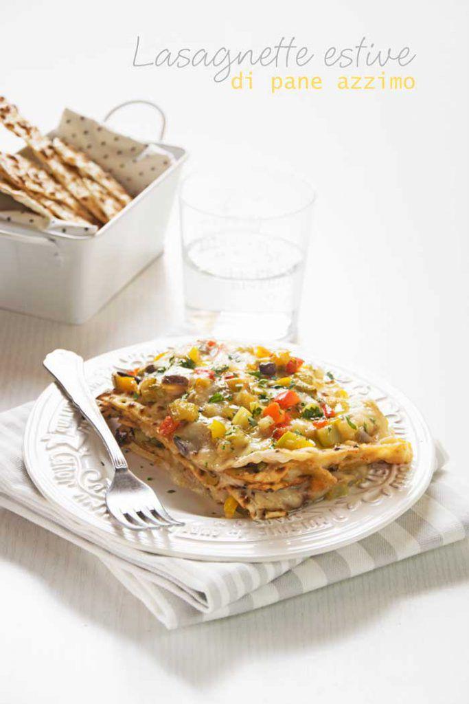 lasagnette di pane azzimo saporite