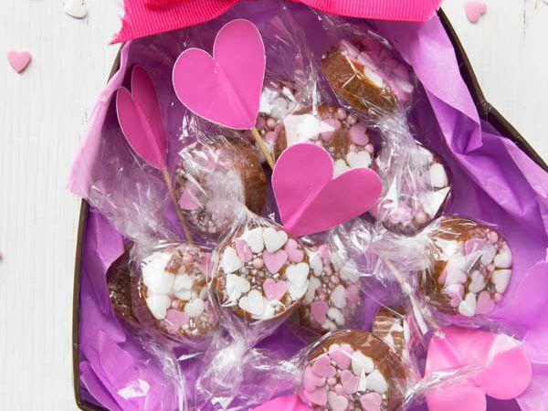 Caramelle alla panna e fior di sale…Saint valentine's Edition