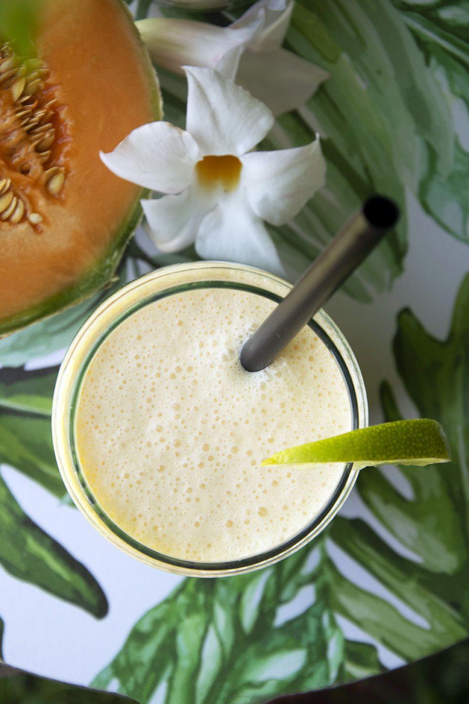 Frullato di melone e latte di cocco