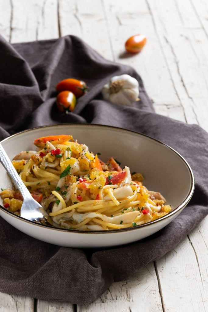 Spaghetti con cannolicchi e pomodoro torpedino for Pomodoro senigallia