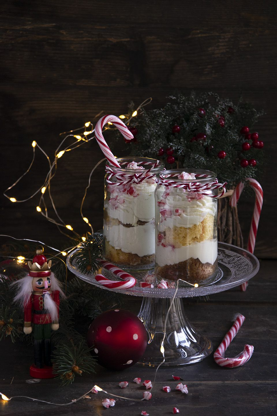 Candy Cane Trifle