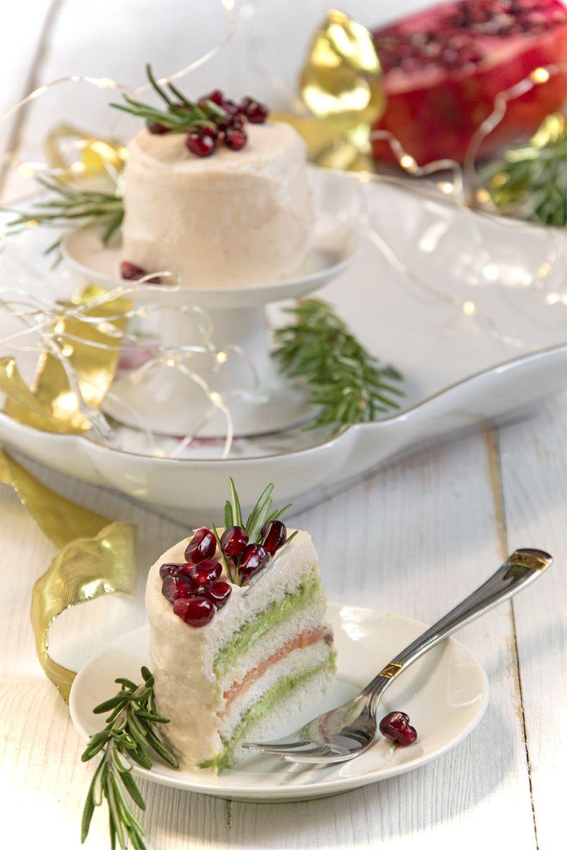 Tramezzino cake salmone e avocado