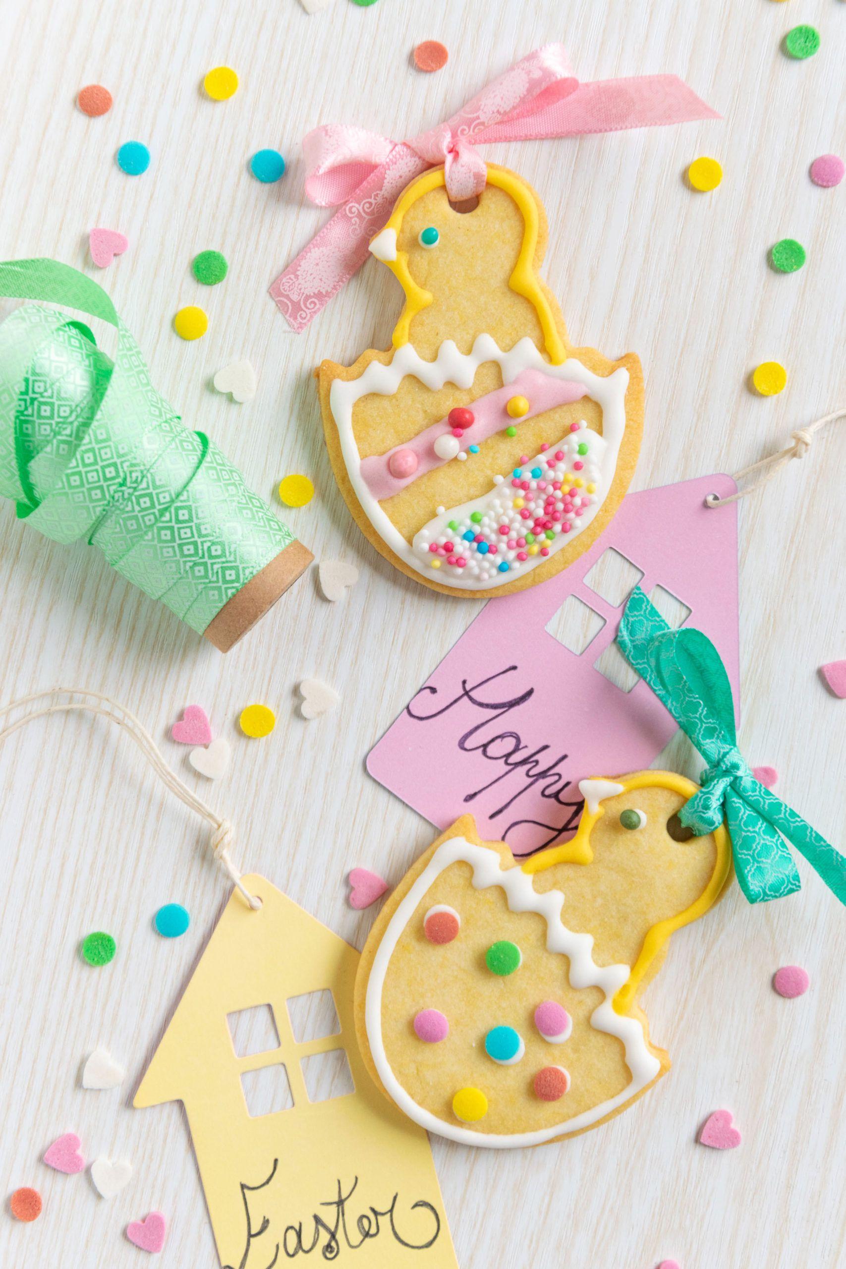 Biscotti pulcino di Pasqua